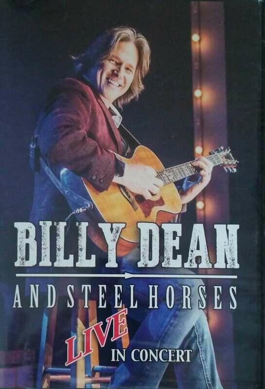 Billy Dean Live in Concert DVD
