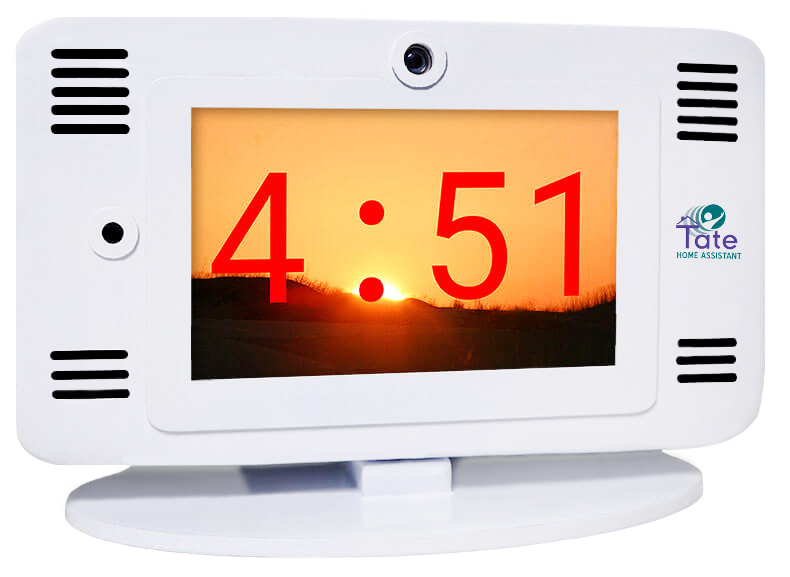 TATE Home Assistant: Bedside Clock