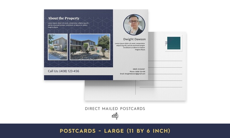 Direct Mailed Postcards - Large
