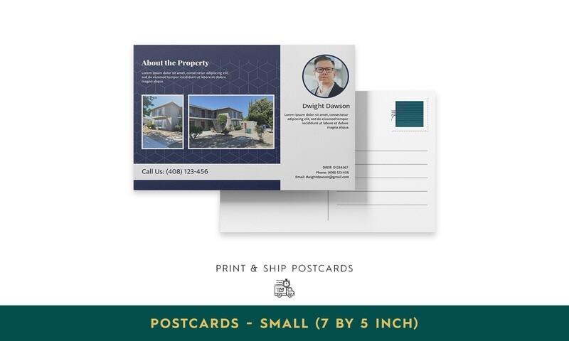 Print & Ship Postcards - Small