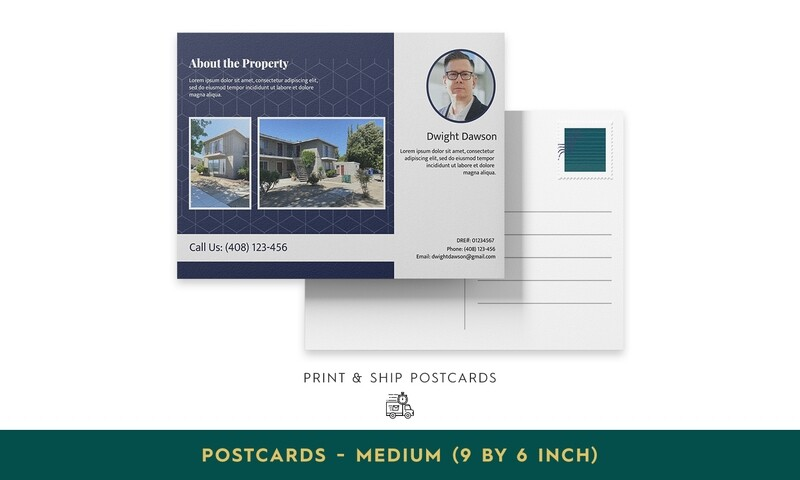 Print & Ship Postcards - Medium