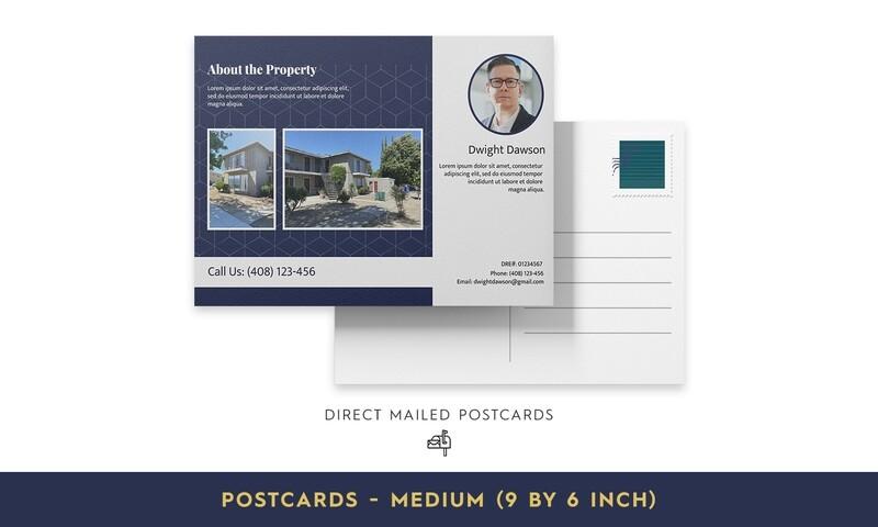 Direct Mailed Postcards- Medium