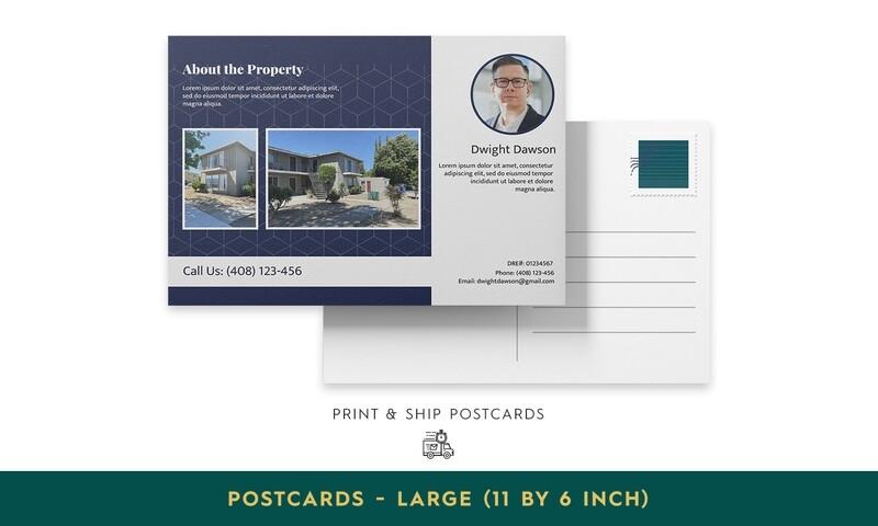 Print & Ship Postcards - Large