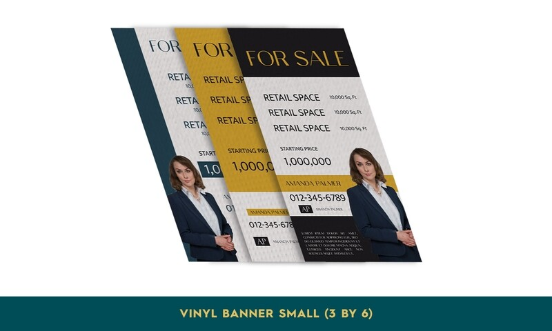 Vinyl Banners - Small