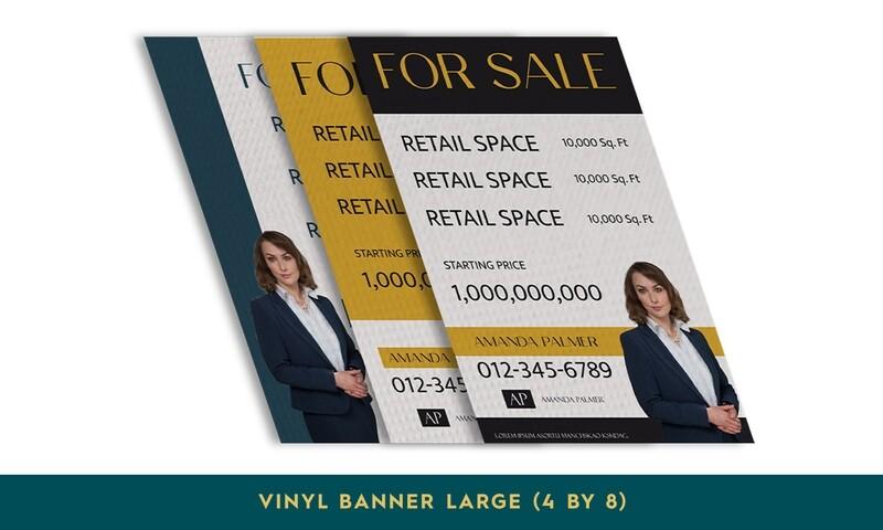Vinyl Banners - Large