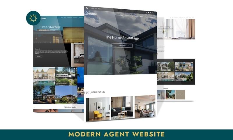 Modern Agent Website