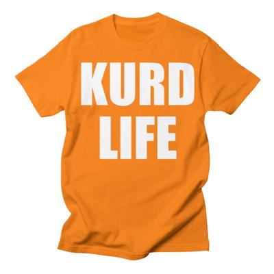"""KURD LIFE"" Men's Crew Neck T-Shirt"