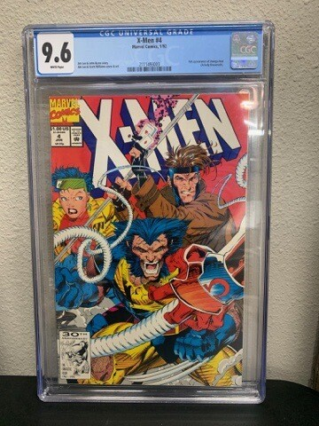 Xmen #4 (first Appearance Of Omega Red)