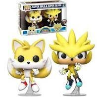 SUPER SILVER AND TAILS GAMESTOP EX