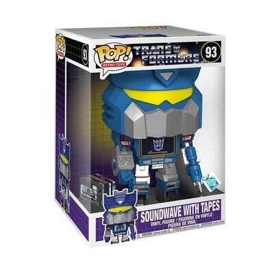 SOUNDWAVE 10INCH WITH TAPES