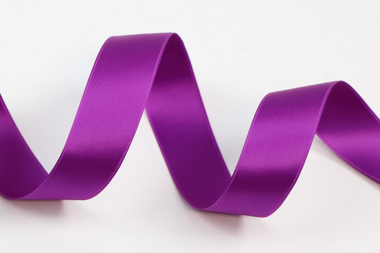 """Satin Double Face """"Purple"""""""