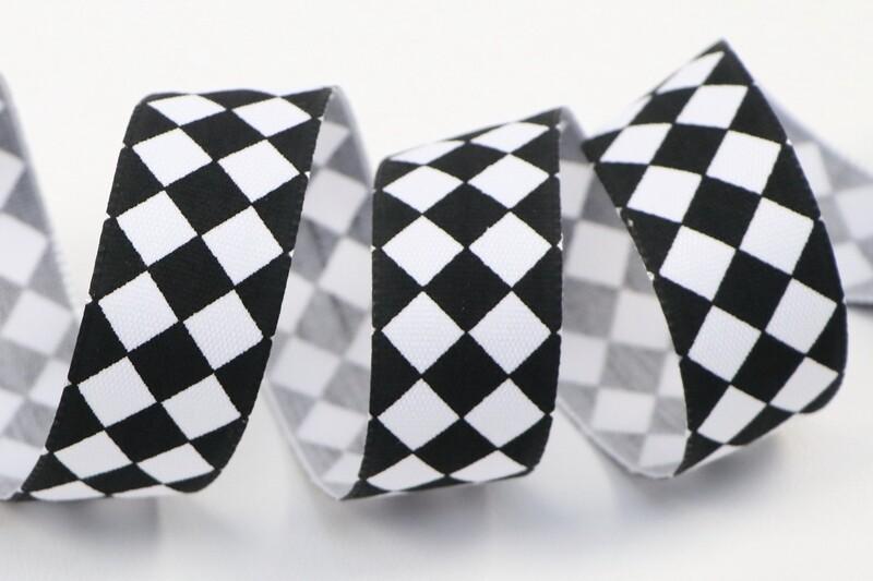 "Polyesterband ""Harlequin"""