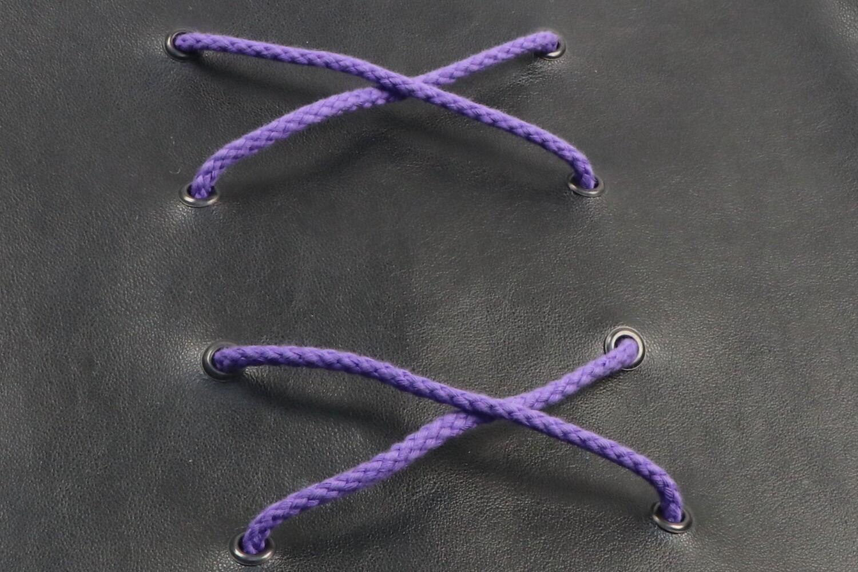 Baumwollkordel violet 5mm