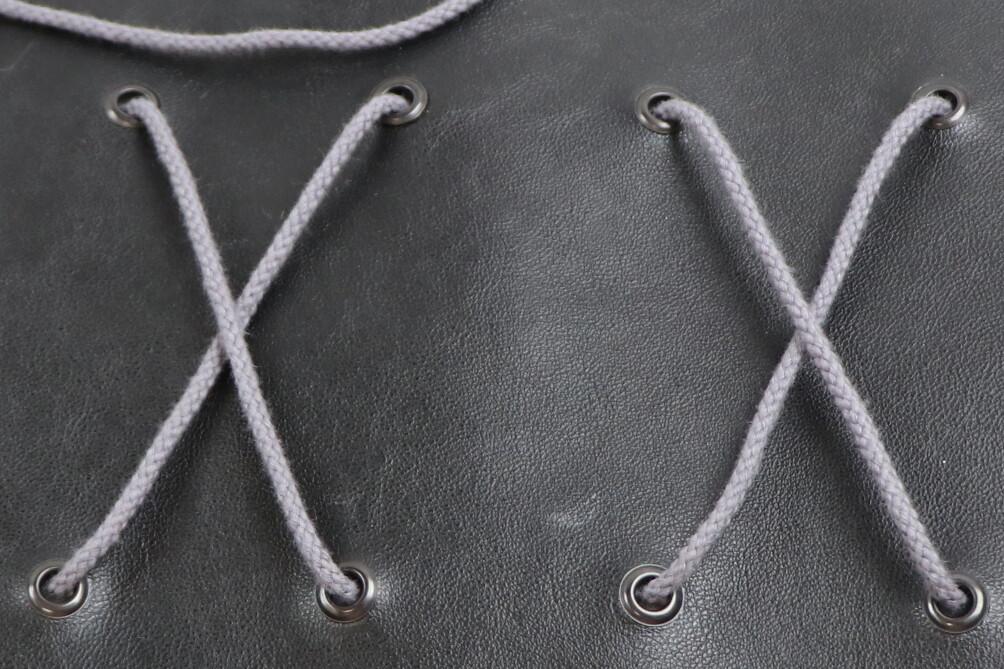Baumwollkordel grau 3mm