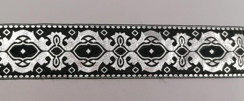 Jacquardborte Wappen