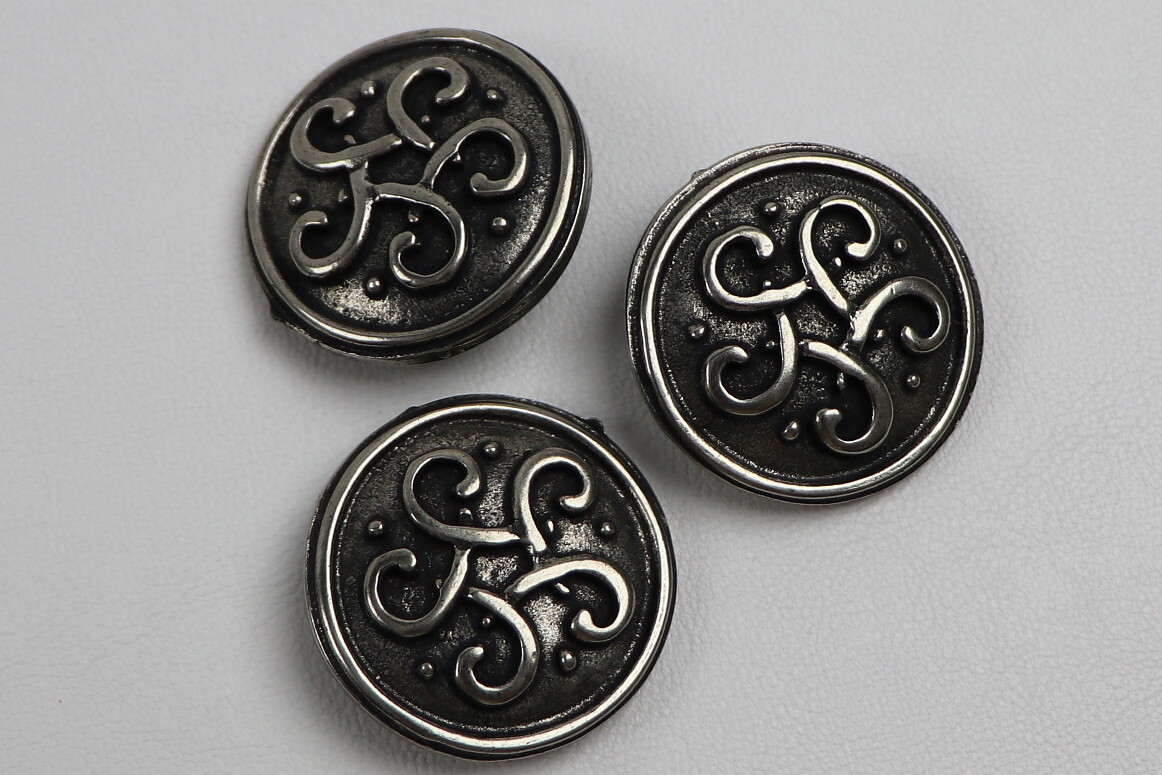 "Beschlag ""keltischer Knoten"" 10Stk."