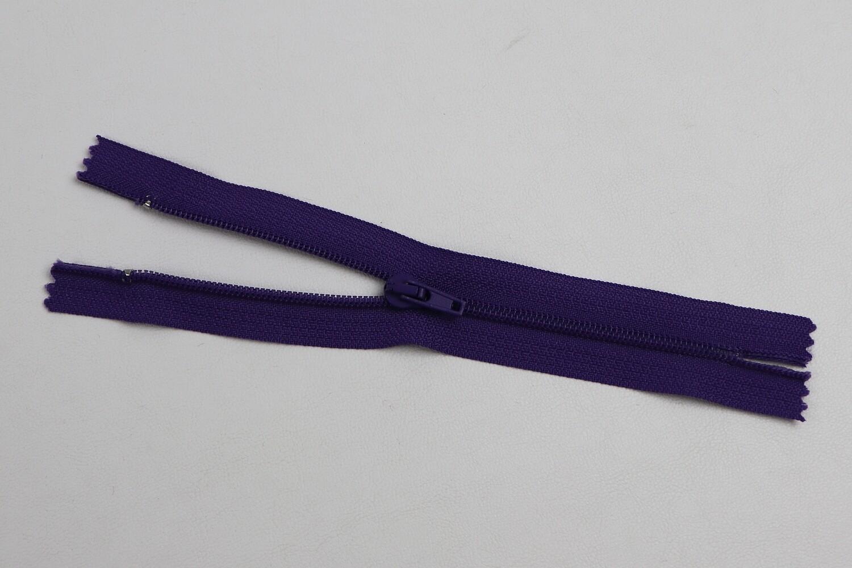 Spiralreissverschluss nicht teilbar violet