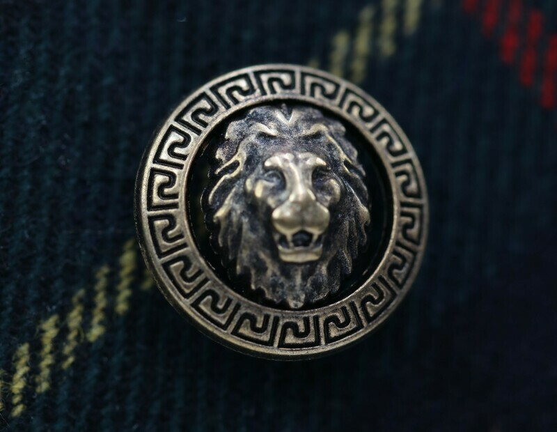 Knopf Löwenkopf
