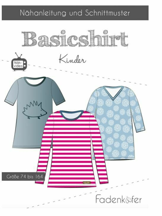 Basicshirt Kinder