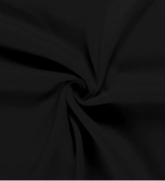 Sweatshirt uni schwarz