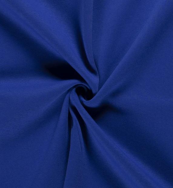 Sweatshirt uni kobalt