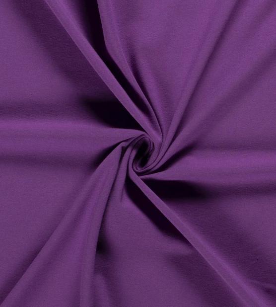 Jersey aubergine