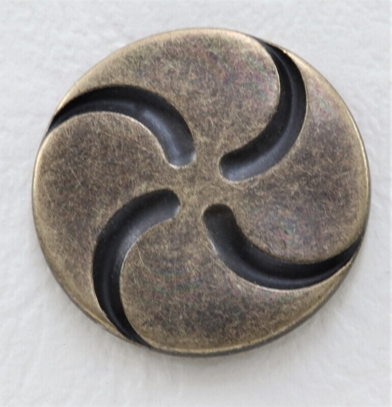 Knopf Spirale