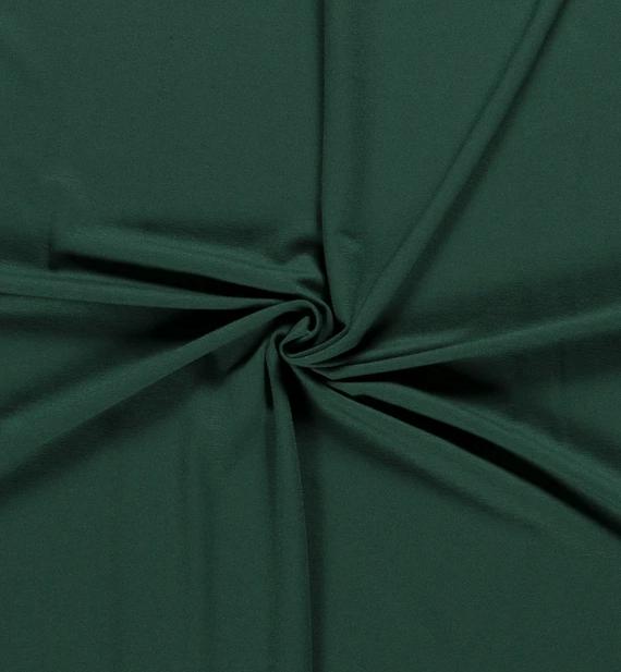 Viskose Jersey dunkelgrün
