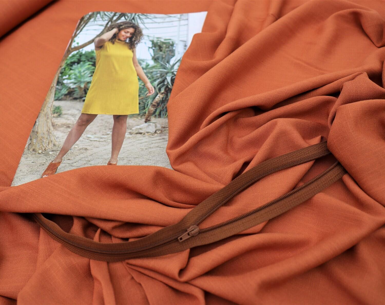 Set Kleid D2104 rost