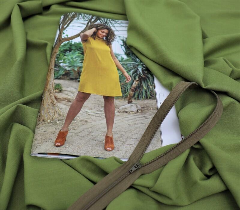 Set kleid D2104 olive