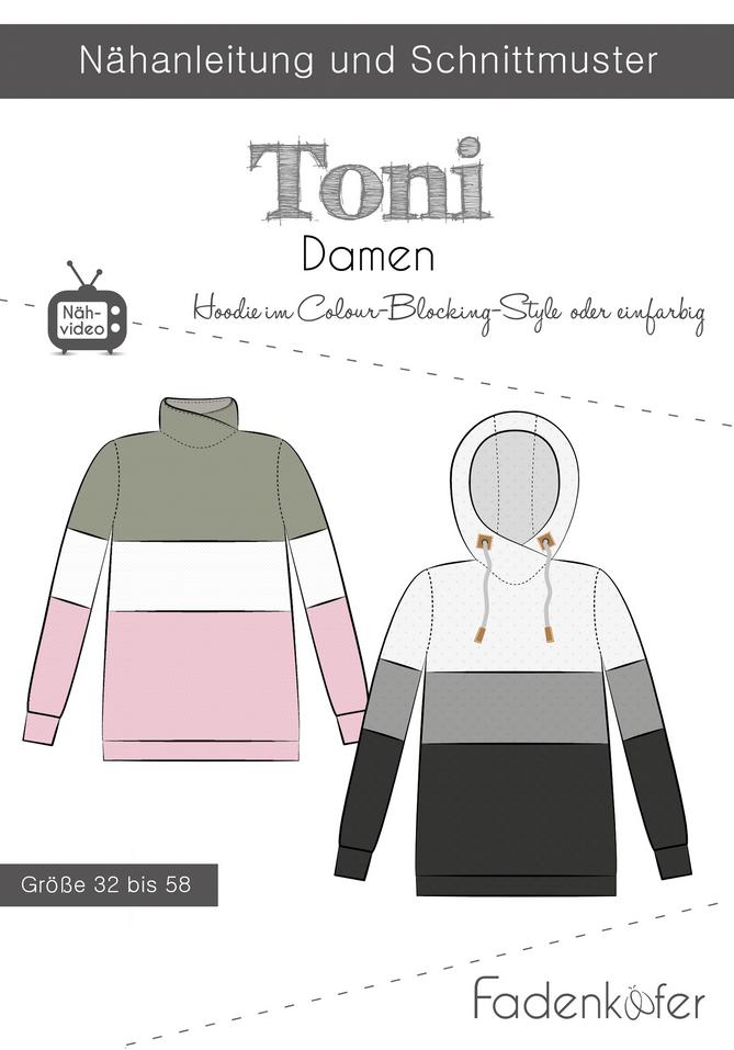 Hoodie Toni Damen