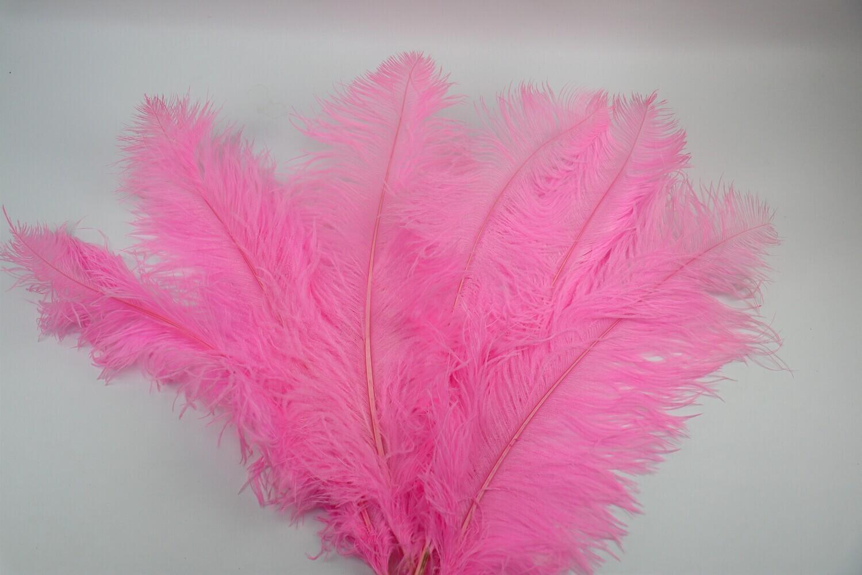 Straussenfeder pink