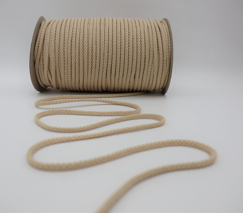 Baumwollkordel beige 3mm