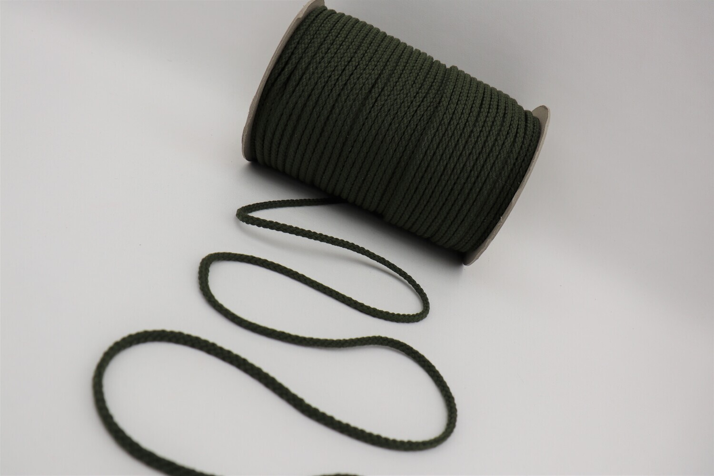 Baumwollkordel olive 5mm