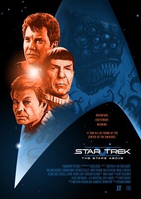 Star Trek V A3 Poster