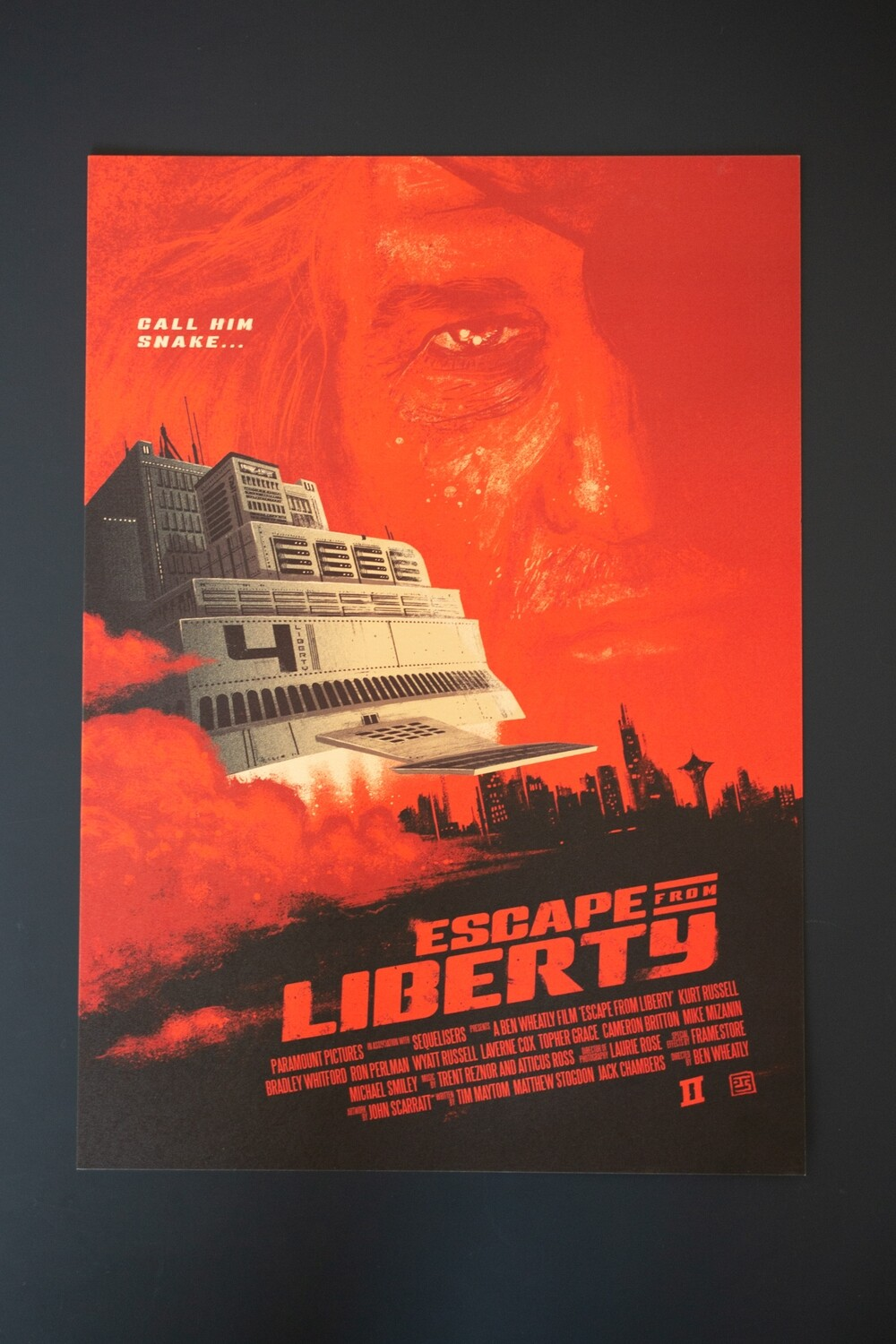 Escape From Liberty A3 Poster
