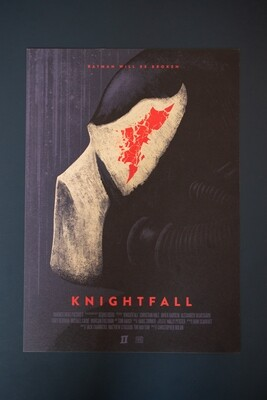 Knightfall A3 Poster