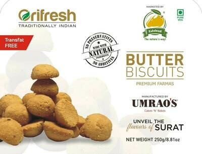 Farmas Butter Biscuits - 250 gm
