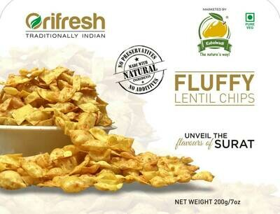 Fluffy Lentil Chips - 200 gm