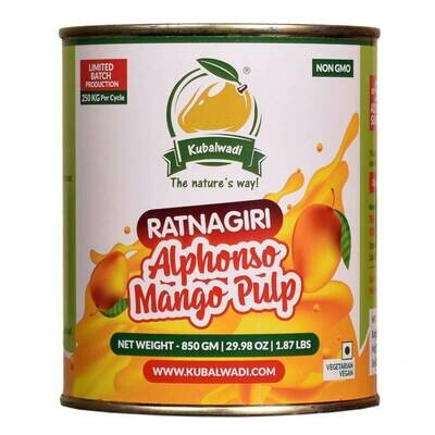 Ratnagiri Alphonso Mango Aamras (Pulp)