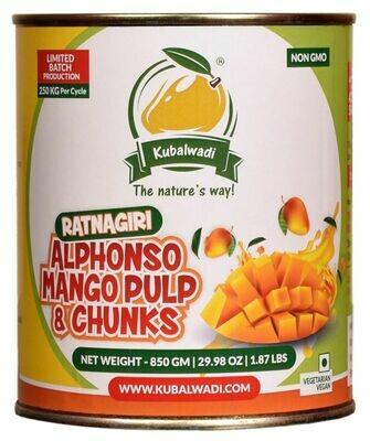 Ratnagiri Alphonso Mango Pulp & Chunks