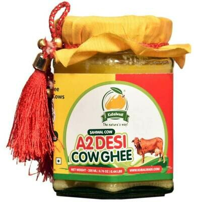 Vedic Bilona Hand Churned A2 Desi Cow Ghee - 200ml