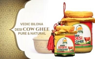 Vedic Bilona Hand Churned A2 Desi Cow Ghee - 500ml