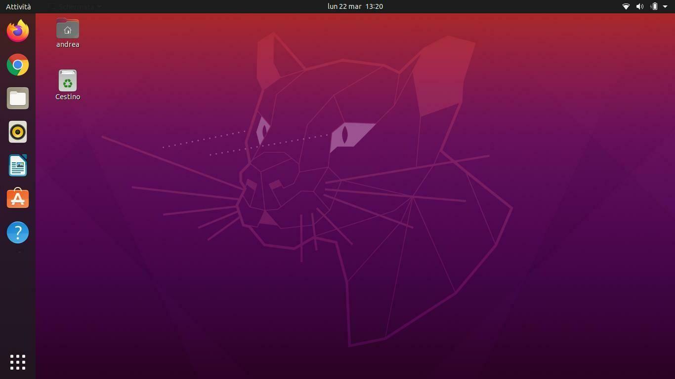 Installazione Ubuntu pacchetto Basic
