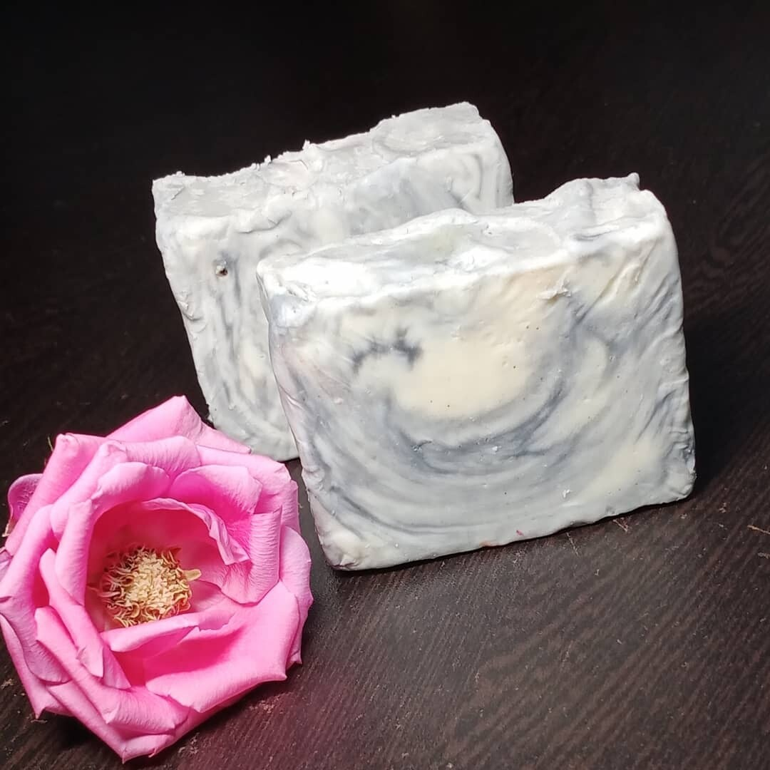 Charcoal Handmade Soap with Kokum Butter (100 grams)