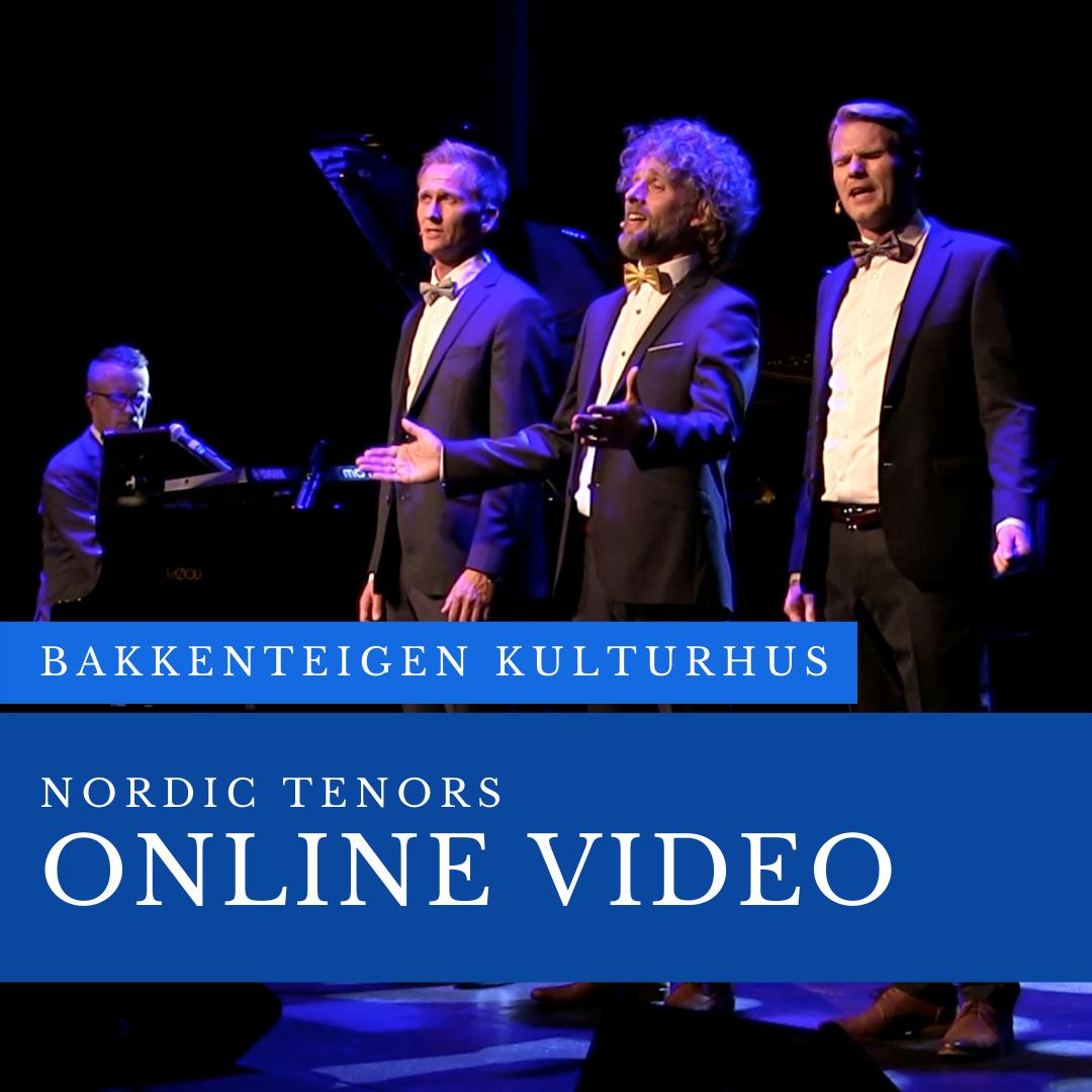 Online video: Concert from Bakkenteigen Concert Hall in Norway