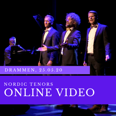 Online video: LIVESTREAM konsert 25. mai 2020