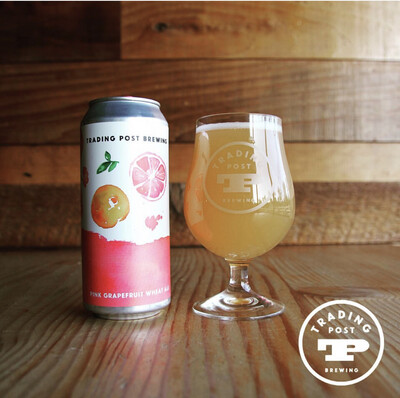 Pink Grapefruit Wheat Ale 4-Pack