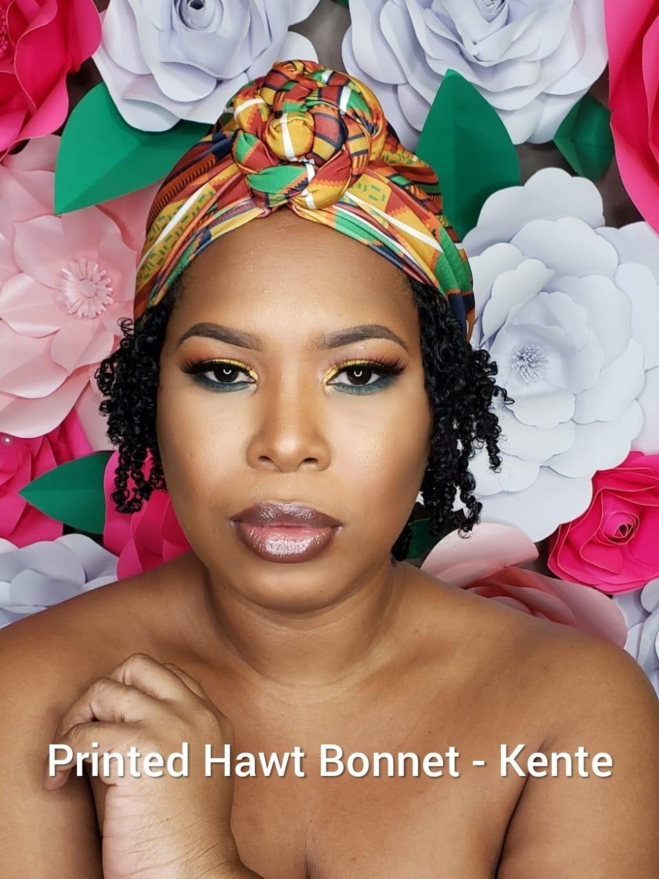 Printed Hawt Bonnets