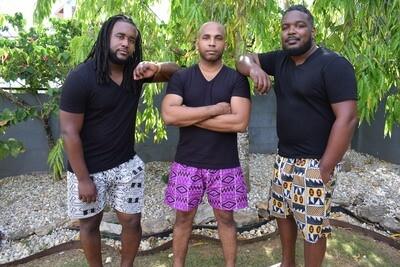 Male Ankara Shorts